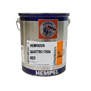 HEMPADUR QUATTRO -  RED - 17634506300005 - 05 Lit
